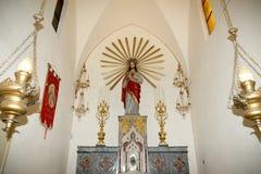 Wśrodku katedry Catania, tytułującej St Agatha, jest ch Obrazy Stock