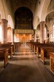 Wśrodku kościół. Fotografia Royalty Free