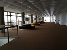 Wśrodku Lisinski theatre zdjęcia stock