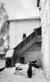 Wśrodku monaster ścian Fotografia Stock