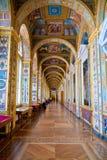 Wśrodku muzeum. wnętrze Zdjęcia Stock