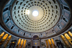 Wśrodku Panteonu, Rzym obrazy stock