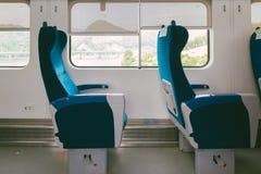 wśrodku pociągu fotografia royalty free