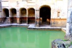 Wśrodku Romańskich skąpań, skąpanie, Anglia Obraz Royalty Free