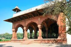 Wśrodku Sławnego Delhi Rewolucjonistki Fortu Fotografia Stock