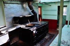 Wśrodku S S Keno sternwheeler w Dawson mieście, Yukon obrazy stock