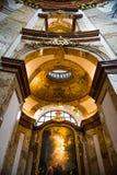 wśrodku s st Charles kościół Zdjęcia Royalty Free