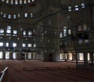 Wśrodku w Istanbuł meczetu Zdjęcia Stock