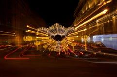 W Świątobliwym Petersburg Nevsky Perspektywa Zdjęcia Royalty Free