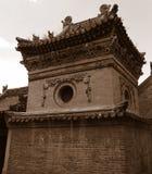 w świątyni Fotografia Stock