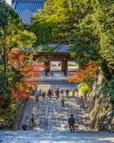 W świątyni w Kyoto Zdjęcia Stock