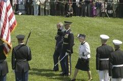乔治W.布什总统 库存照片
