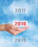 W 2016 Obrazy Stock