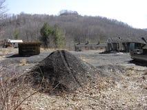 W abandonado Va Mina de carbón Fotografía de archivo libre de regalías