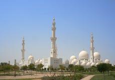 W Abu Sheikh Meczet Zayed Dhabi Zdjęcie Stock