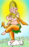 Władyka Ganesha Fotografia Royalty Free
