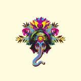 Władyka Ganesha - wektor Obrazy Royalty Free