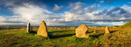 Władyka kamienie, North Yorkshire, UK Obraz Stock