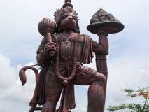 Władyki Hanuman statua w Hosanadu, Moodbidri Fotografia Stock