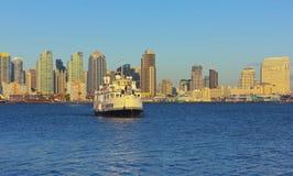 Władyki Hornblower Obiadowy rejs, San Diego Obrazy Stock