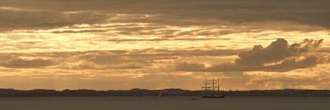 Władyki Nelson panorama Obrazy Royalty Free