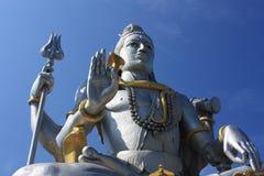 Władyki Shiva statua, India. Fotografia Stock