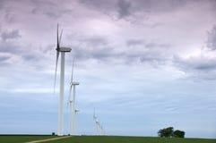 władza rolny wiatr Obrazy Stock