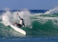 władza surfing Obraz Royalty Free