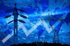 władze energetyczna Zdjęcie Stock