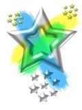 władze gwiazda royalty ilustracja