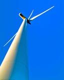 władze turbiny wiatr Zdjęcie Royalty Free