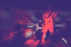 Władzy rockowa abstrakcjonistyczna scena II zdjęcie royalty free