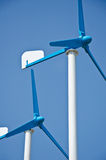władzy turbina wiatr Zdjęcie Stock