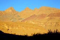 w Africa Morocco atlant dolina gruntuje odosobnionego wzgórze Obraz Stock