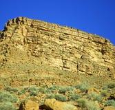 w Africa Morocco atlant doliny góry sucha ziemia odizolowywa Obrazy Royalty Free
