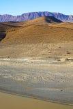 w Africa Morocco atlant doliny wody rzeka Obrazy Stock