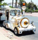 W Agadir mała uliczna lokomotywa Fotografia Stock