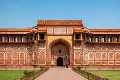 W Agra fort, Uttar Pradesh, India Zdjęcia Royalty Free