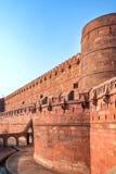 W Agra fort, Uttar Pradesh, India Zdjęcie Stock
