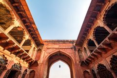 W Agra fort, Uttar Pradesh, India Obraz Royalty Free