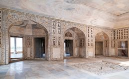 W Agra fort, Uttar Pradesh, India Zdjęcia Stock