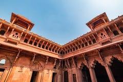 W Agra fort, Uttar Pradesh, India Obrazy Royalty Free