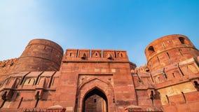 W Agra fort, Uttar Pradesh, India Fotografia Royalty Free
