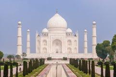 W Agra nieprawdopodobny Taj Mahal Obraz Stock