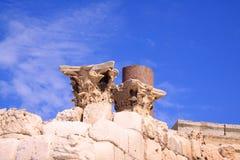 W Alexanria antyczne Romańskie ruiny Zdjęcie Royalty Free