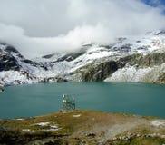 W alps halny jezioro Obraz Royalty Free
