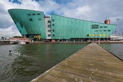 W Amsterdam Nemo Muzeum Zdjęcie Stock