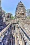 W Angkor Bayon Świątynia Fotografia Stock