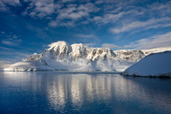 W Antarctica góry Zdjęcia Stock