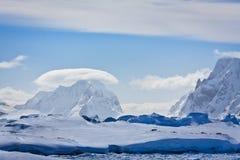 W Antarctica góry Obraz Royalty Free